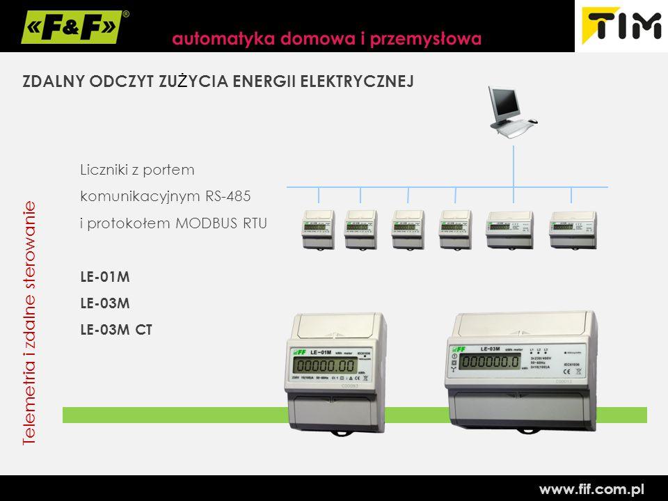 ZDALNY ODCZYT ZUŻYCIA ENERGII ELEKTRYCZNEJ