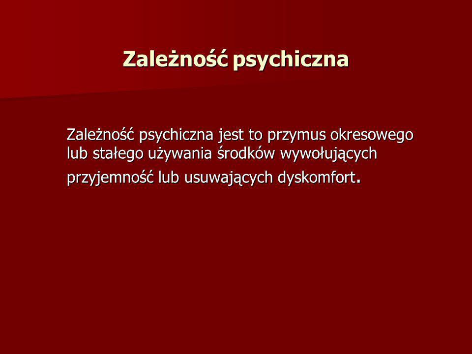 Zależność psychiczna