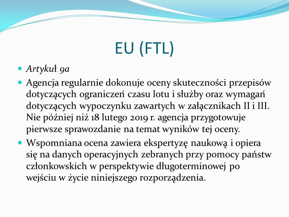 EU (FTL) Artykuł 9a.