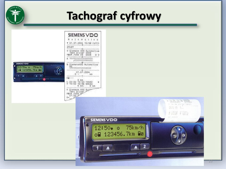 Tachograf cyfrowy
