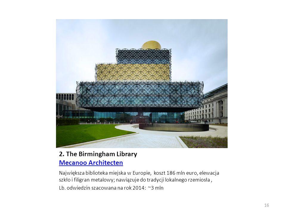 2. The Birmingham Library Mecanoo Architecten