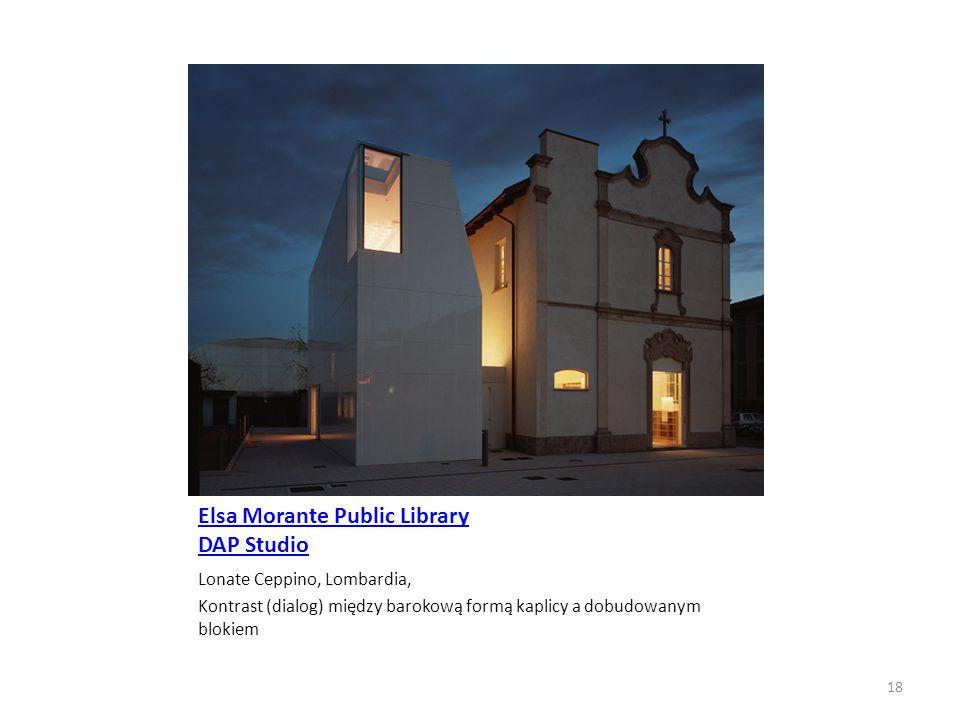 Elsa Morante Public Library DAP Studio