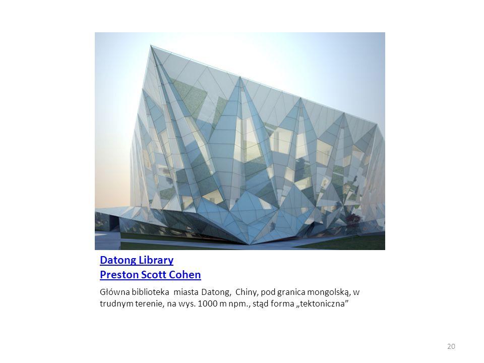 Datong Library Preston Scott Cohen