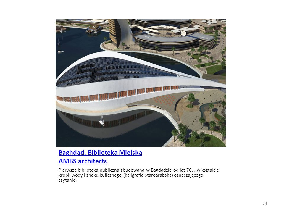 Baghdad, Biblioteka Miejska AMBS architects