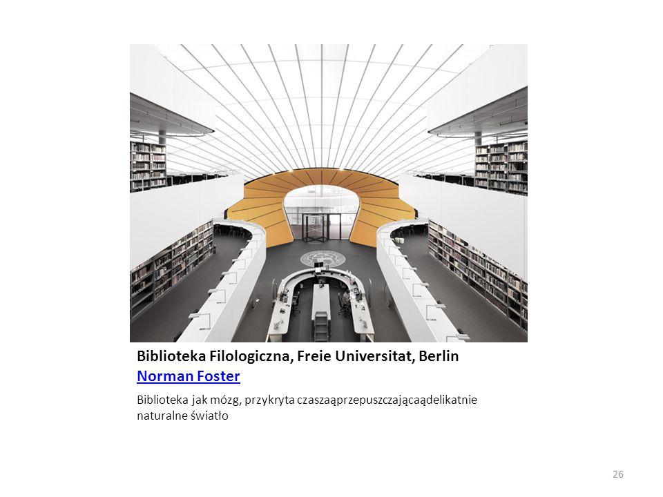 Biblioteka Filologiczna, Freie Universitat, Berlin Norman Foster