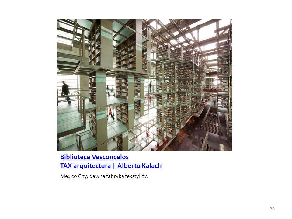 Biblioteca Vasconcelos TAX arquitectura | Alberto Kalach