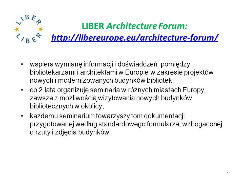 LIBER Architecture Forum: http://libereurope.eu/architecture-forum/