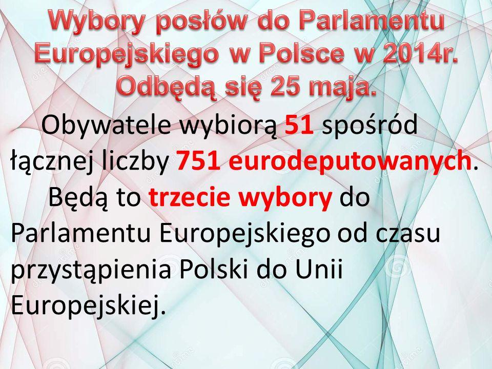 Wybory posłów do Parlamentu Europejskiego w Polsce w 2014r