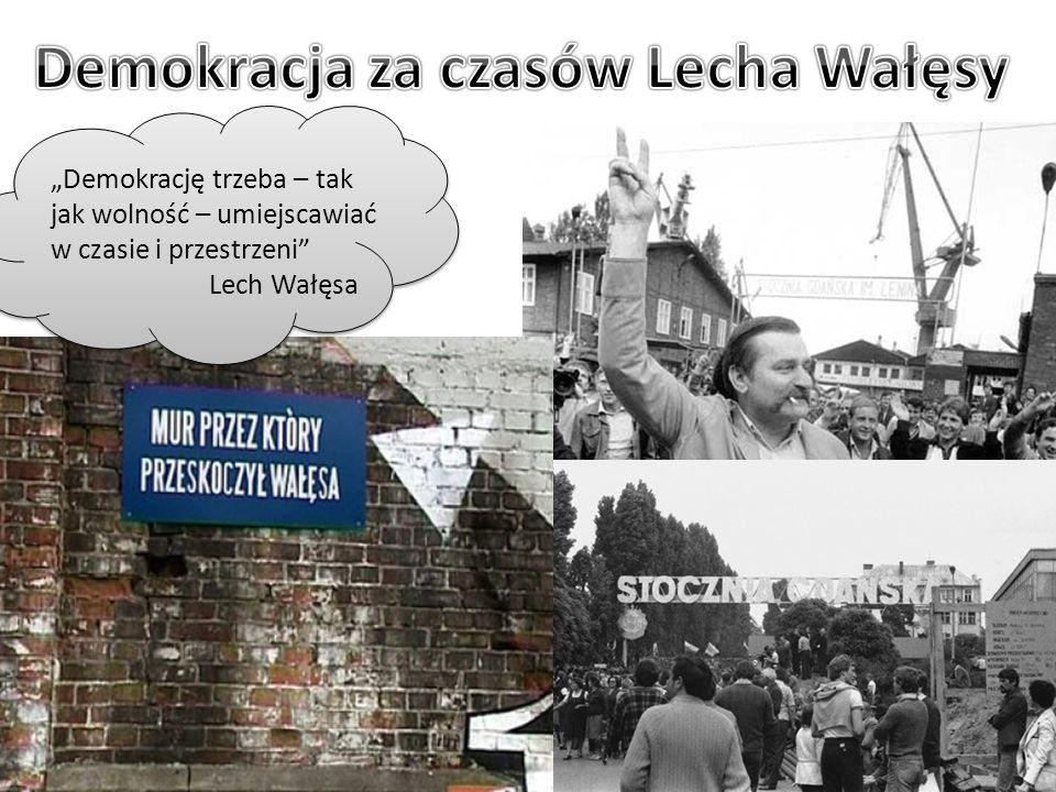 Demokracja za czasów Lecha Wałęsy
