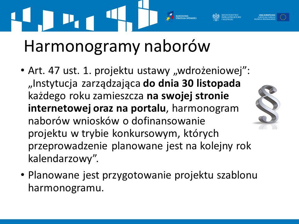 Harmonogramy naborów