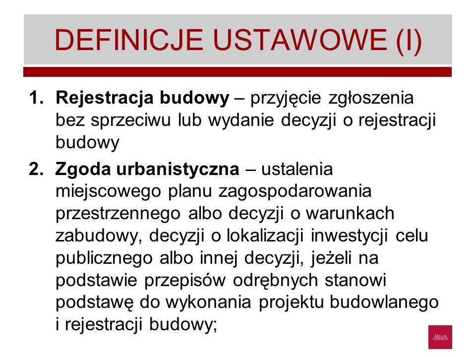 DEFINICJE USTAWOWE (I)