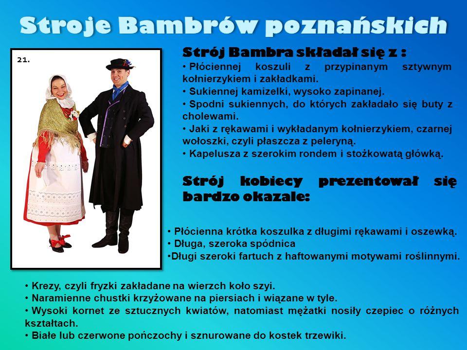 Stroje Bambrów poznańskich
