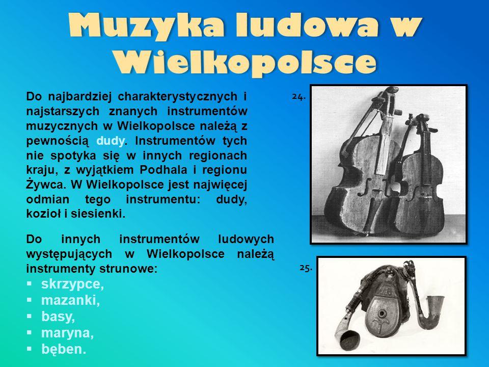 Muzyka ludowa w Wielkopolsce