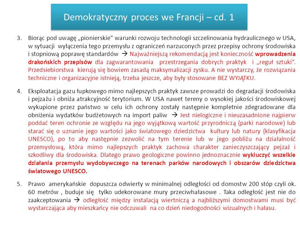 Demokratyczny proces we Francji – cd. 1