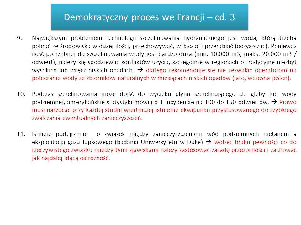 Demokratyczny proces we Francji – cd. 3