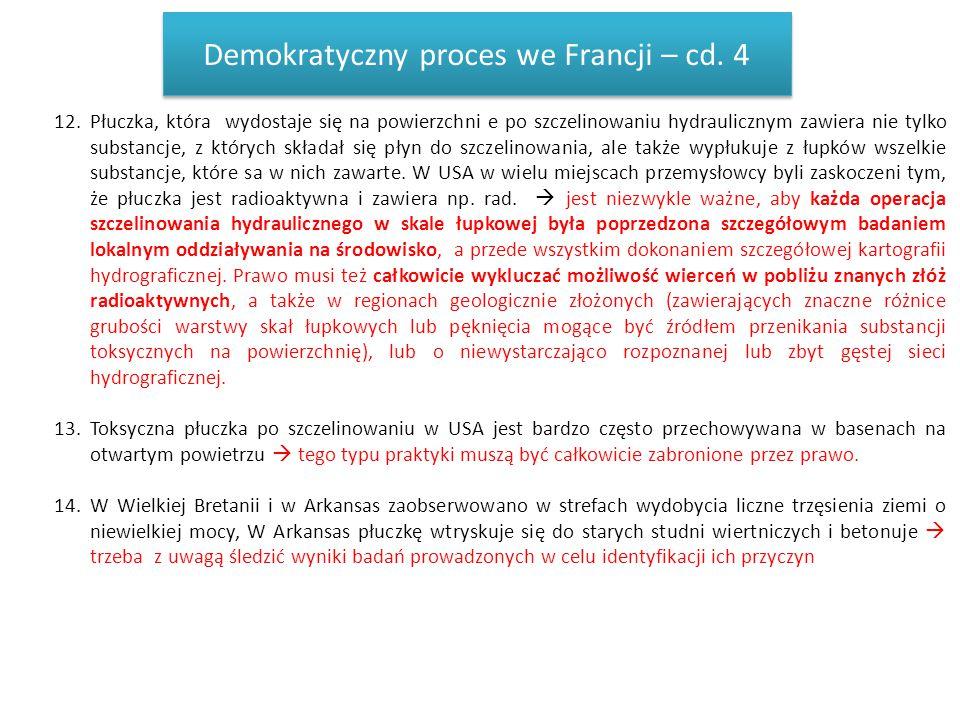 Demokratyczny proces we Francji – cd. 4
