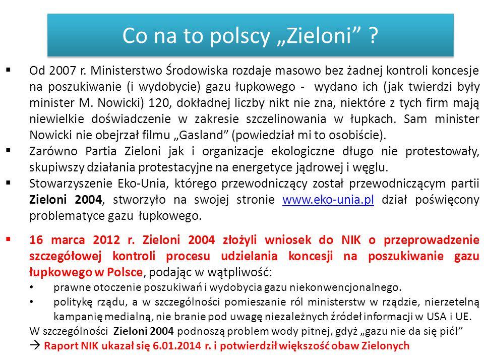 "Co na to polscy ""Zieloni"