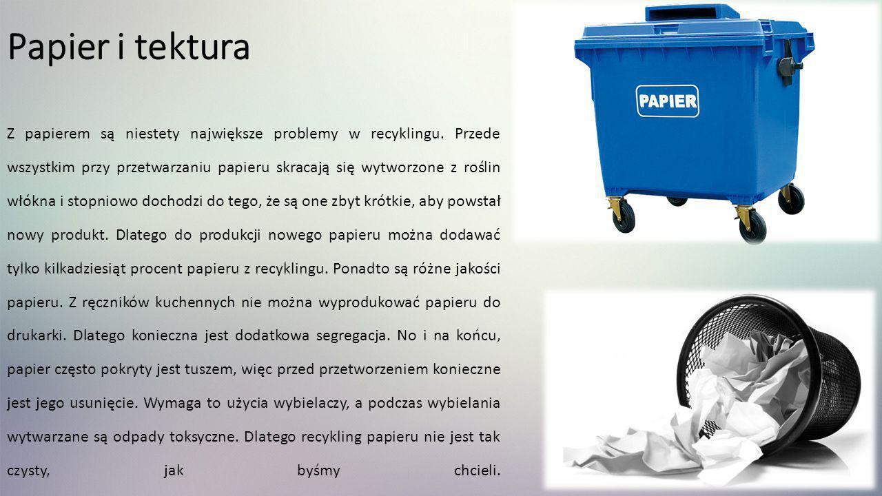Papier i tektura