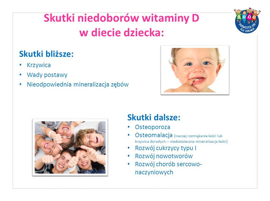 Skutki niedoborów witaminy D