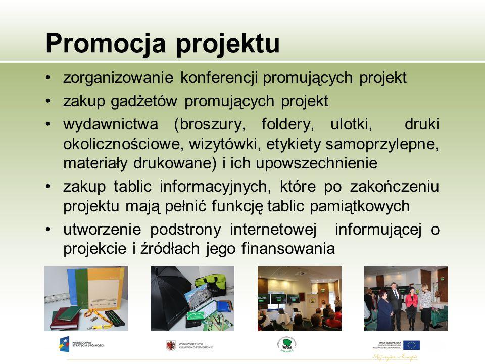 Promocja projektu zorganizowanie konferencji promujących projekt