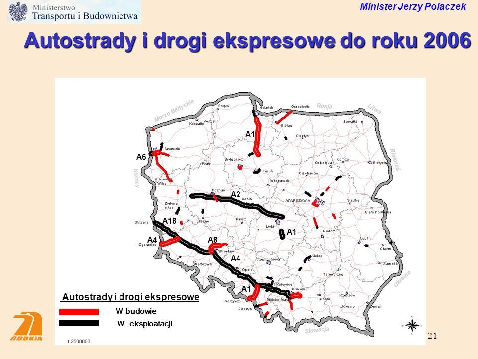 Autostrady i drogi ekspresowe do roku 2006