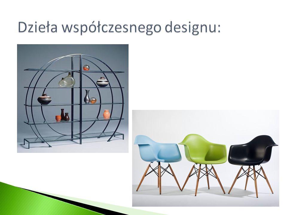 Dzieła współczesnego designu: