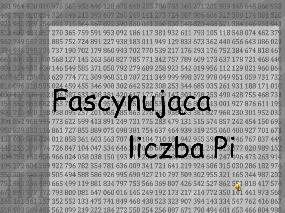 Fascynująca liczba Pi