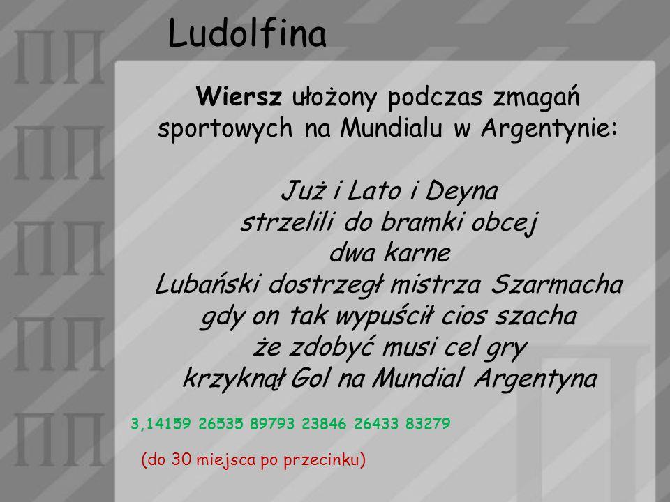 Ludolfina