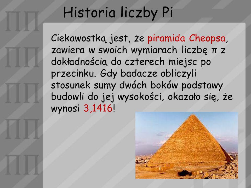 Historia liczby Pi