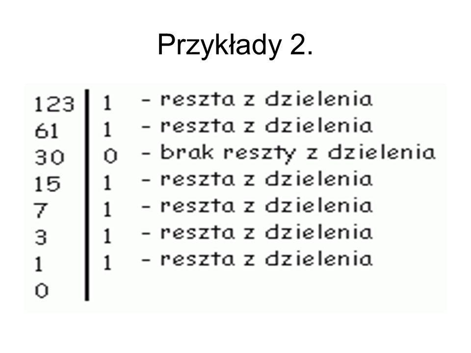 Przykłady 2.
