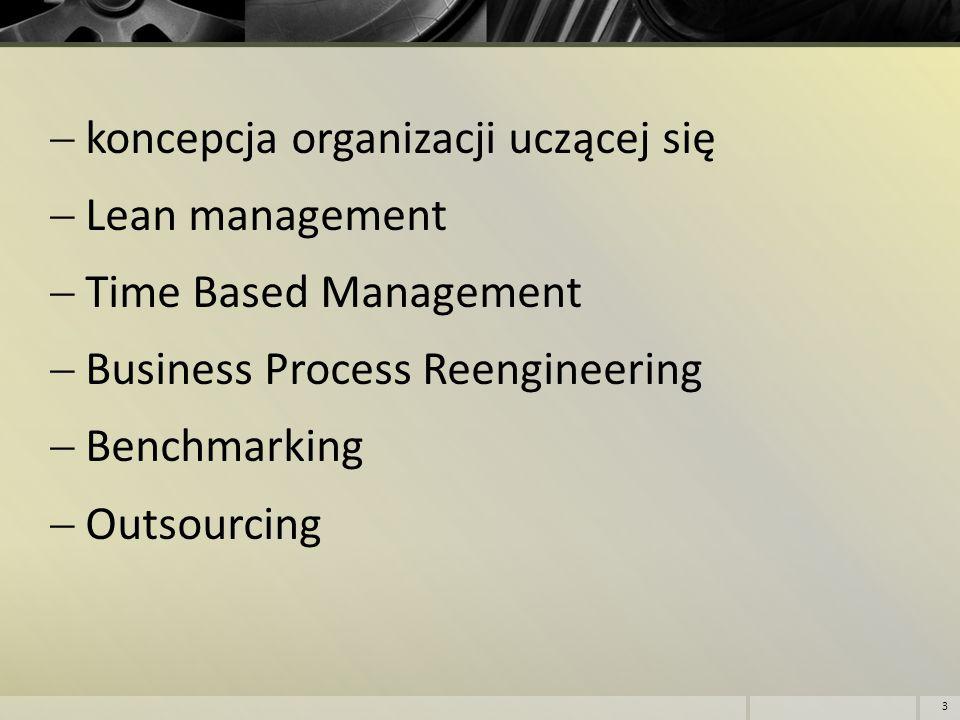 koncepcja organizacji uczącej się