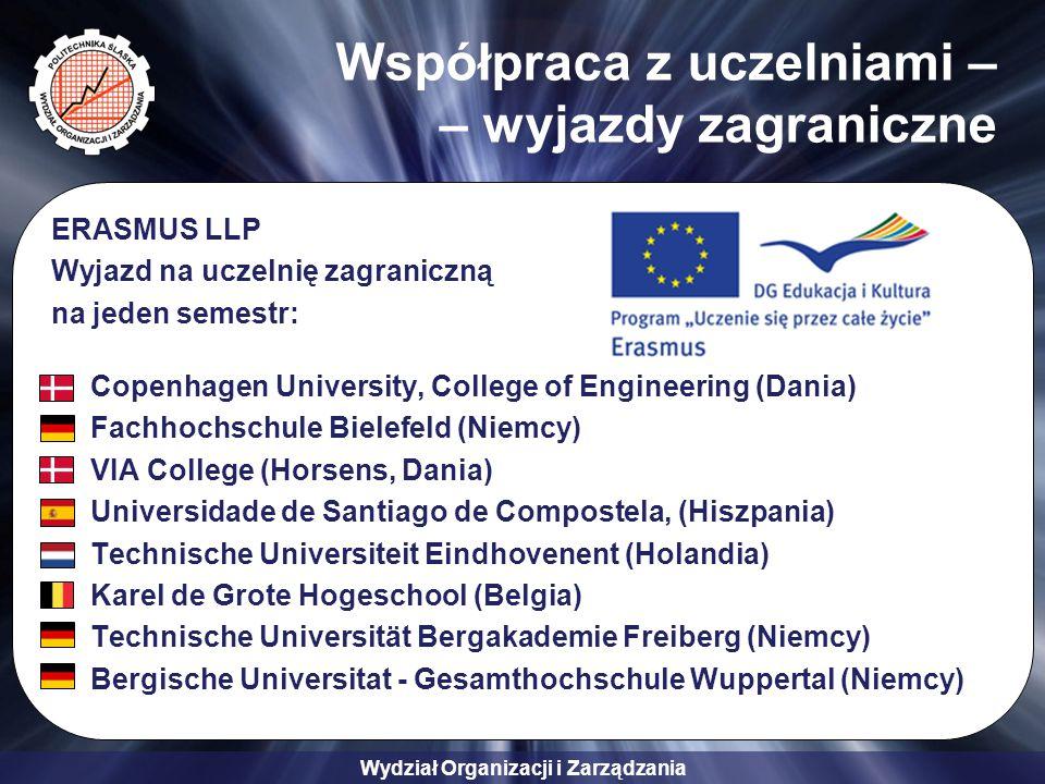 Współpraca z uczelniami – – wyjazdy zagraniczne