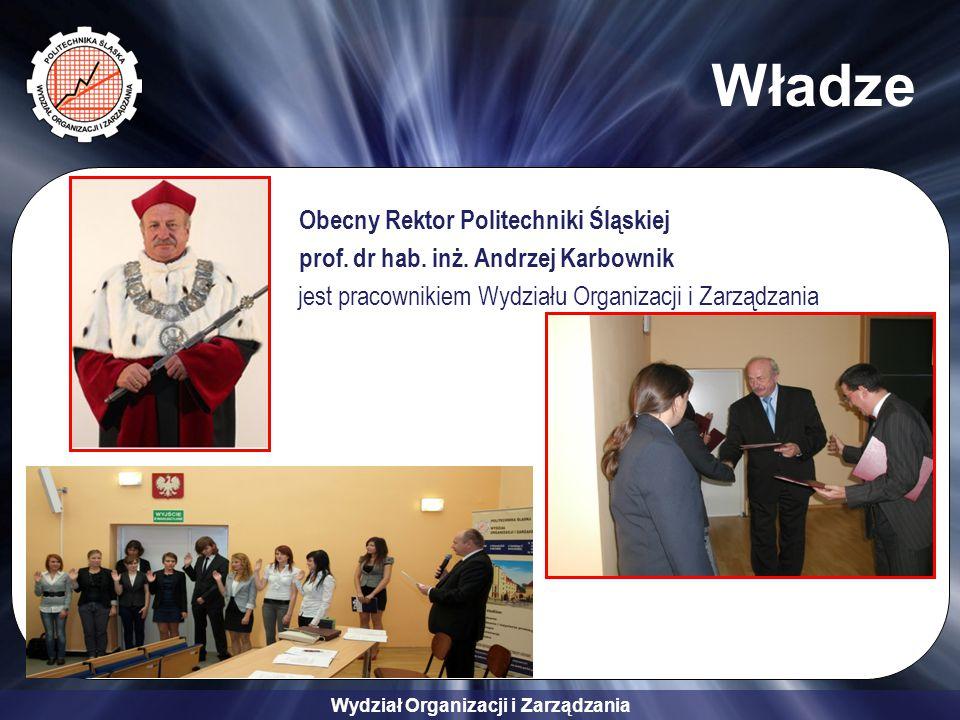 Władze Obecny Rektor Politechniki Śląskiej