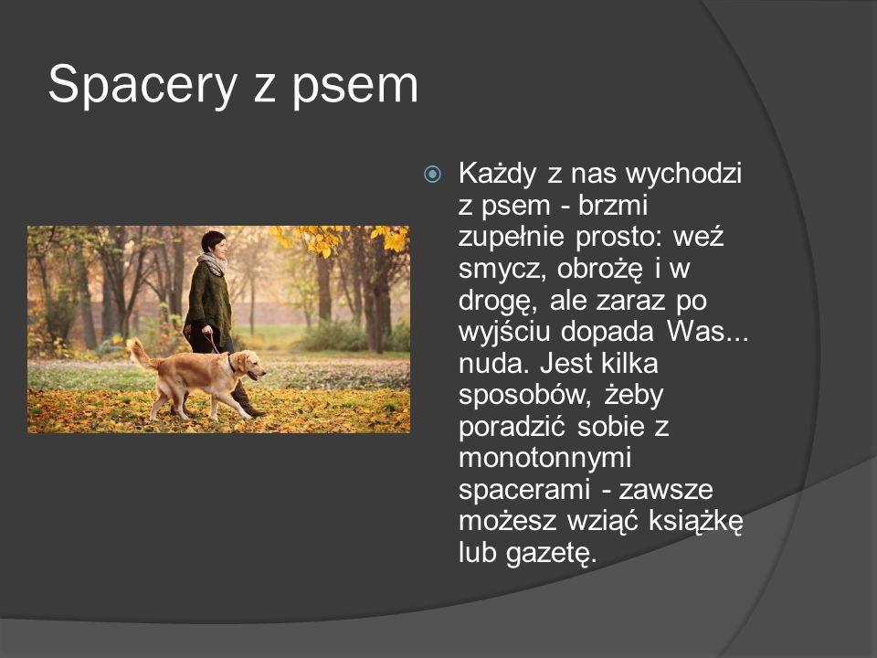 Spacery z psem