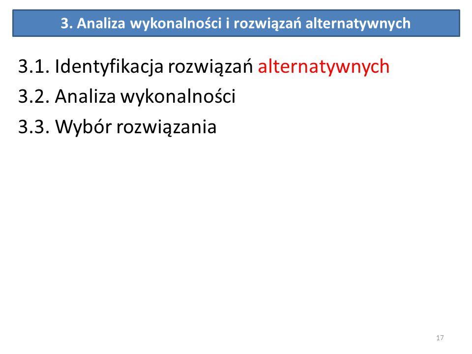 3. Analiza wykonalności i rozwiązań alternatywnych
