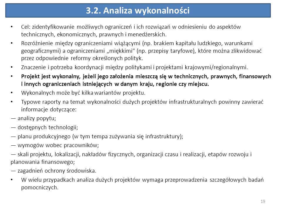 3.2. Analiza wykonalności