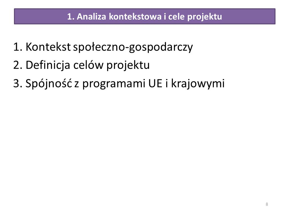1. Analiza kontekstowa i cele projektu