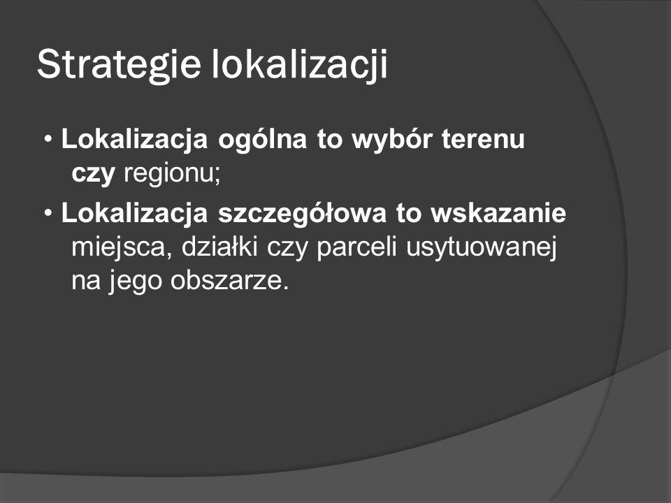 Strategie lokalizacji