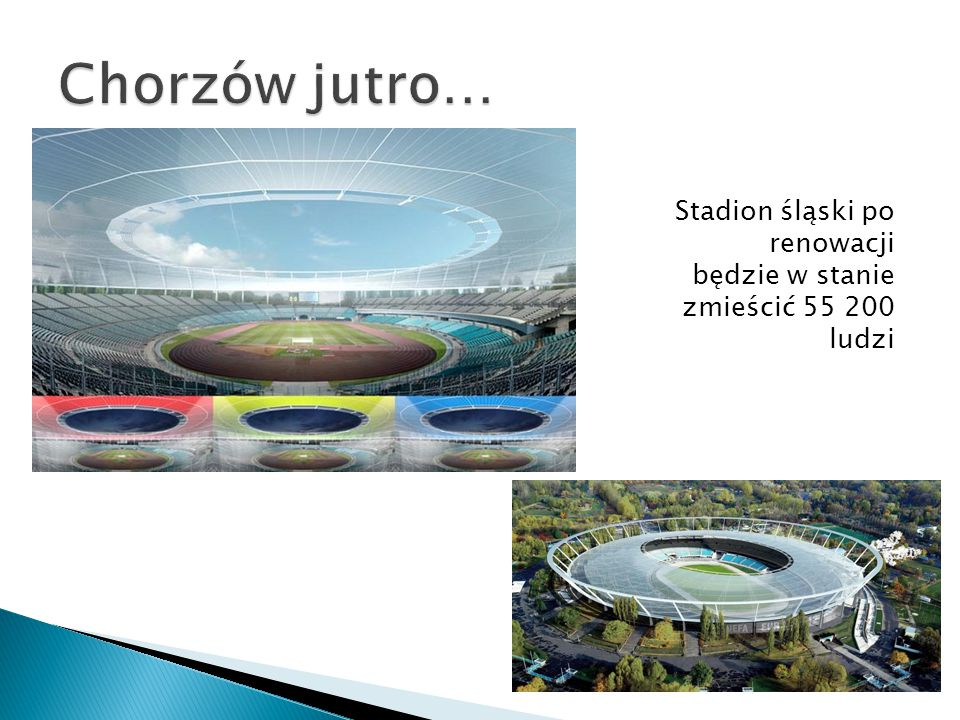 Chorzów jutro… Stadion śląski po renowacji będzie w stanie zmieścić 55 200 ludzi