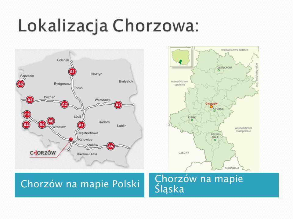 Lokalizacja Chorzowa: