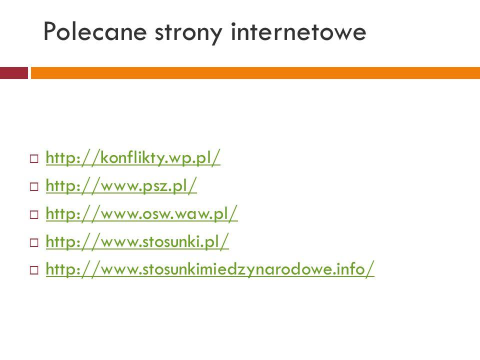 Polecane strony internetowe