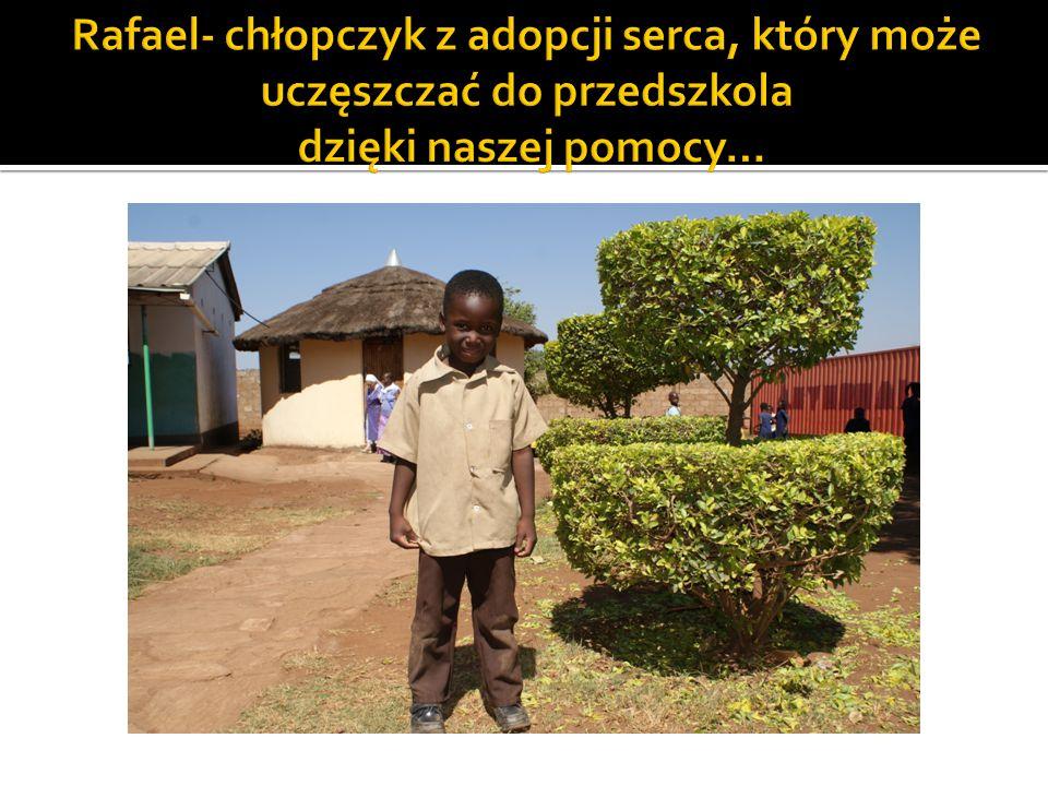 Rafael- chłopczyk z adopcji serca, który może uczęszczać do przedszkola dzięki naszej pomocy…