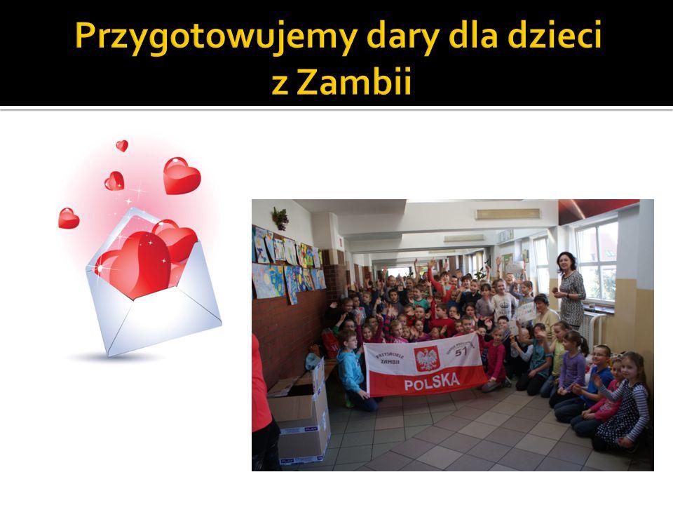 Przygotowujemy dary dla dzieci z Zambii