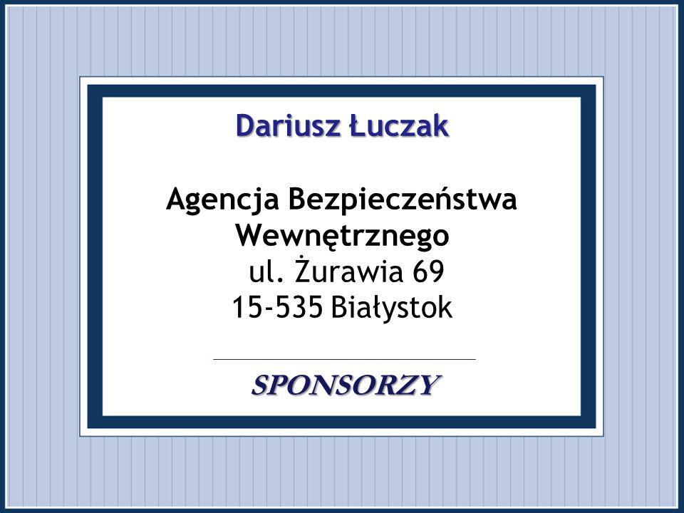 Dariusz Łuczak Agencja Bezpieczeństwa Wewnętrznego ul