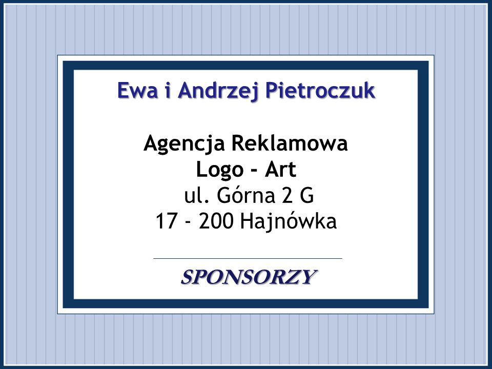 Ewa i Andrzej Pietroczuk Agencja Reklamowa Logo - Art ul