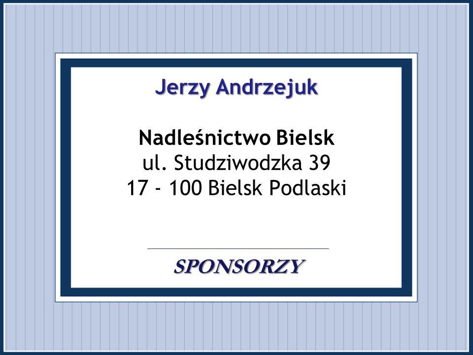 Jerzy Andrzejuk Nadleśnictwo Bielsk ul