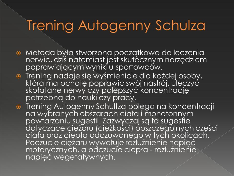 Trening Autogenny Schulza