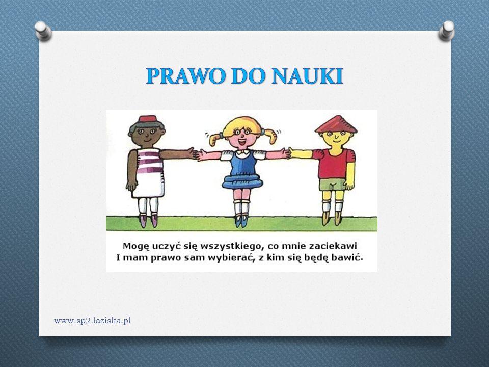 PRAWO DO NAUKI www.sp2.laziska.pl