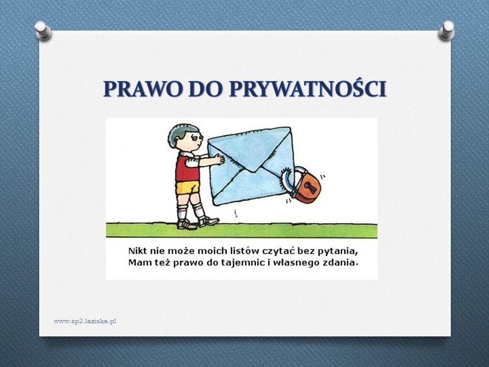 PRAWO DO PRYWATNOŚCI www.sp2.laziska.pl
