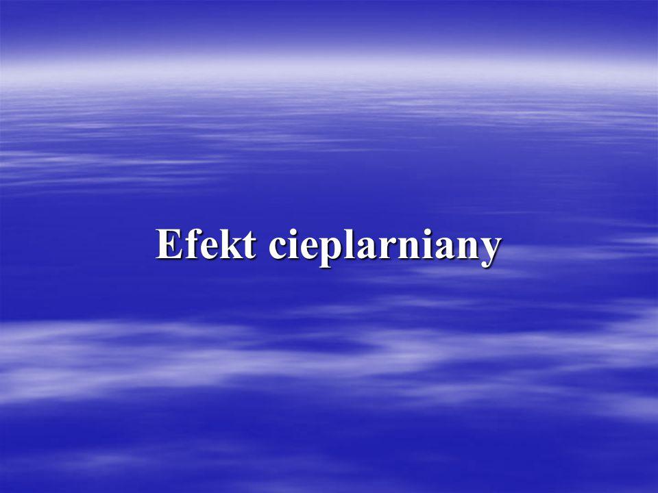 Efekt cieplarniany